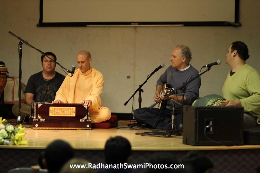 Radhanath Swami and Richard Davis