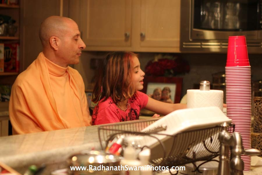 Radhanath Swami in Philadelphia, USA