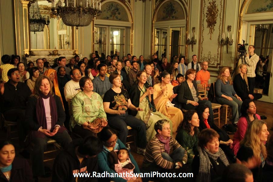 Radhanath Swami in USA