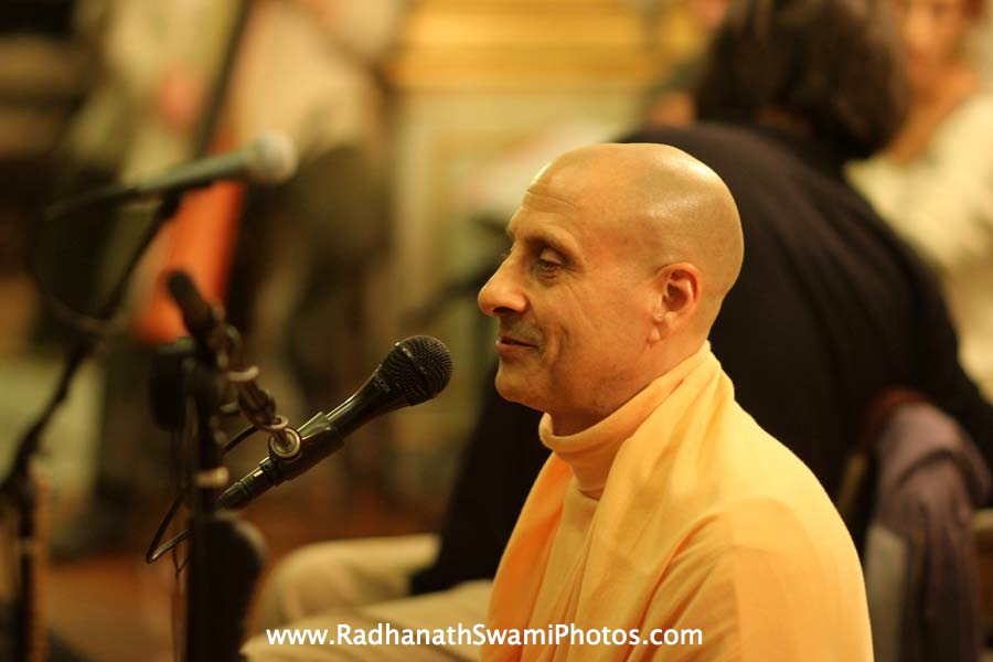 Radhanath Swami Swami Maharaj