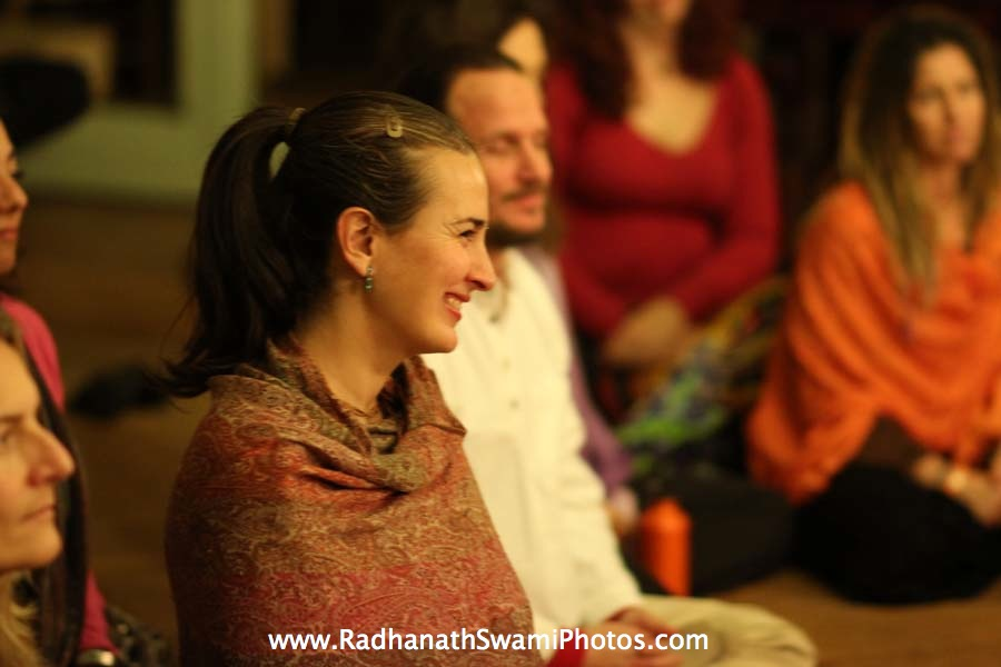 Radhanath Swami in Philadelphia