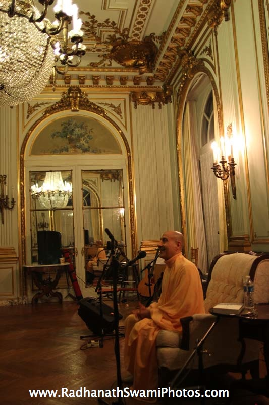 Talk by HH Radhanath Swami Maharaj at Elkins Estate