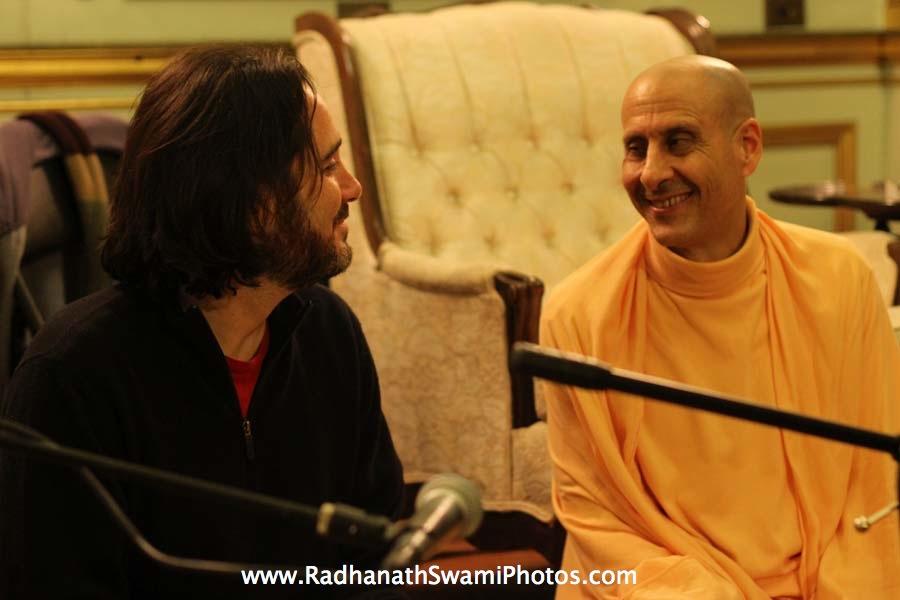 Radhanath Swami at Elkins Estate, Philadelphia