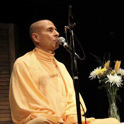 Radhanath Swami at Busboys and Poets