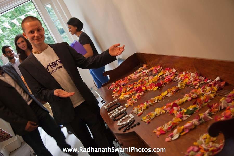 Radhanath Swami in London