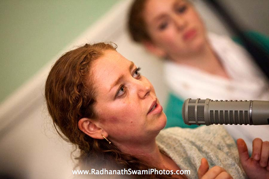 Jahnavi Harrison at Kirtan London Launch