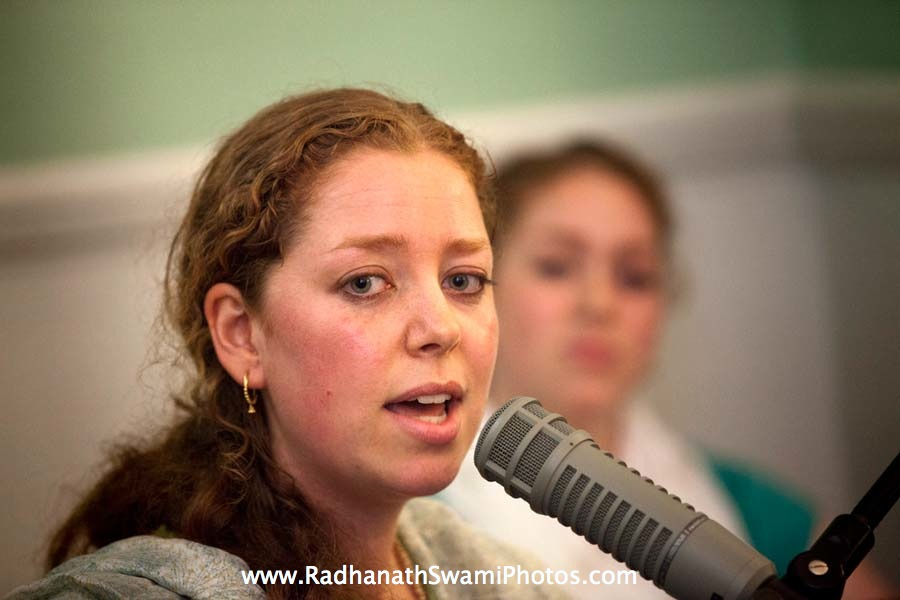 Kirtan by Jahnavi Harrison during Kirtan London Launch