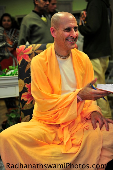 Radhanath Swami in Los Angeles, USA