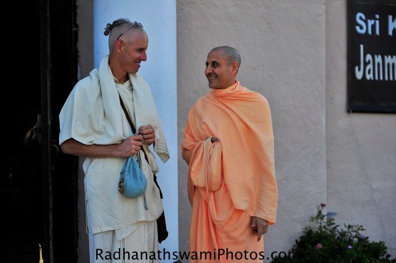 Radhanath Swami's Visit to ISKCON Laguna Beach Temple