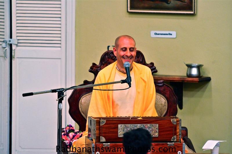 Swami Radhanath's talk at ISKCON Laguna Beach Temple