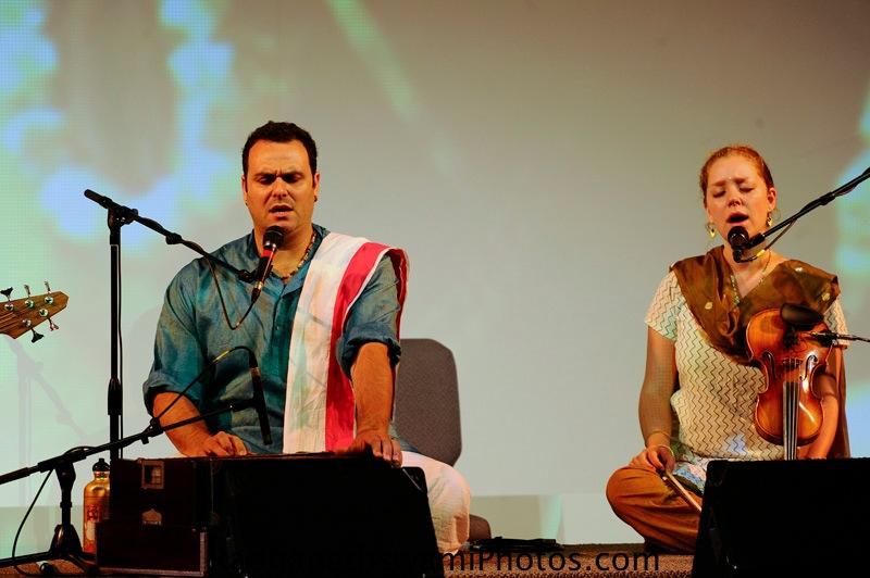 Gauravani Prabhu and Jahnava mataji at Dance to the source of Love