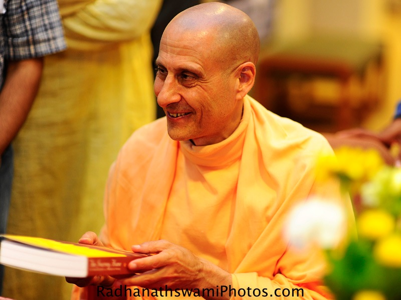 Radhanath Swami Maharaj at Dance to the source of love events in Seattle