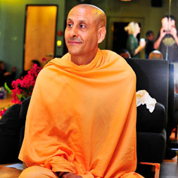 Radhanath Swami at Core Power Yoga Studio