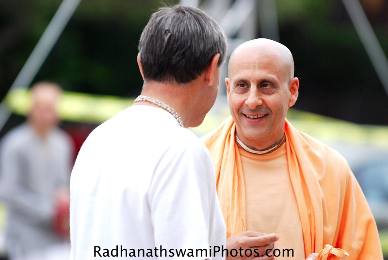 Radhanath Swami in Los Angeles