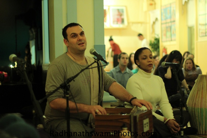 Gauravani Prabhu at Broome Street Temple
