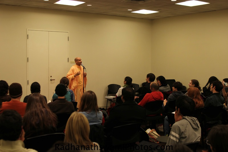 Radhanath Swami at New York University