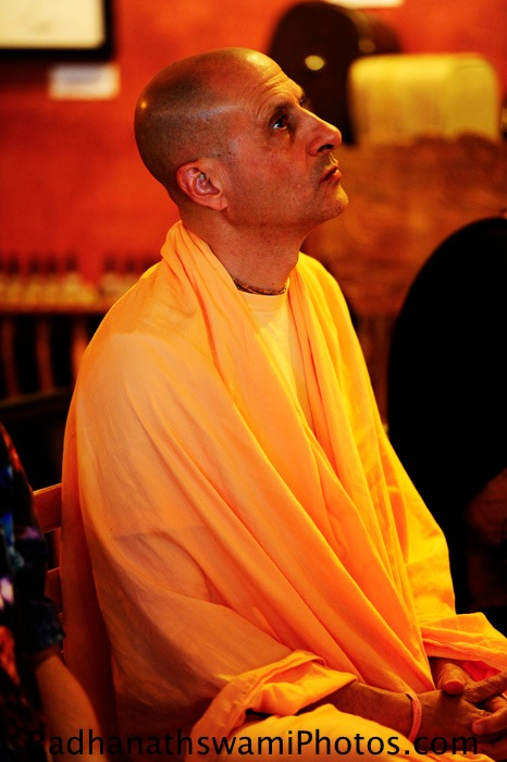Radhanath Swami in Seattle
