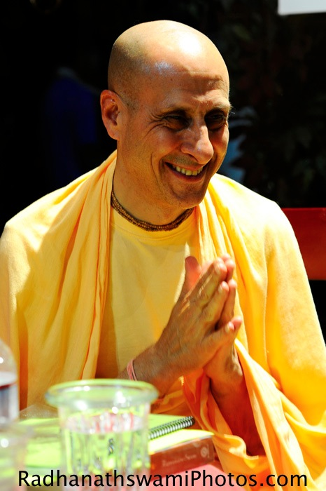 Radhanatha Swami at Soul Food Book Store, Seattle