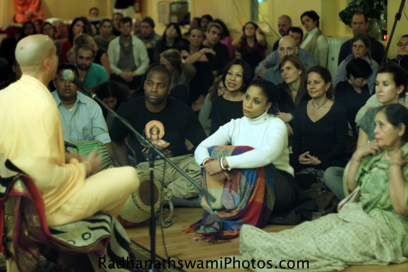 Radhanatha Swamy in New York