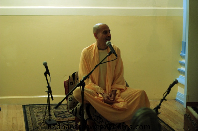 Swamy Radhanath at Broome Street Temple