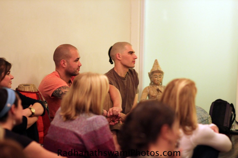 Guests at Baker Street Yoga Centre