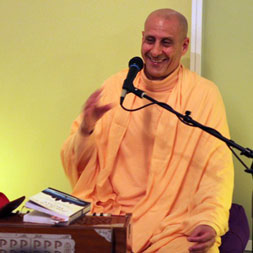 Radhanath Swami at Baker Street Yoga Center