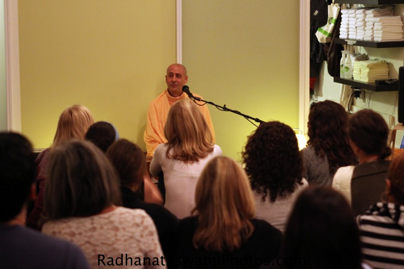 Radhanatha Swami at Baker Street Yoga Center