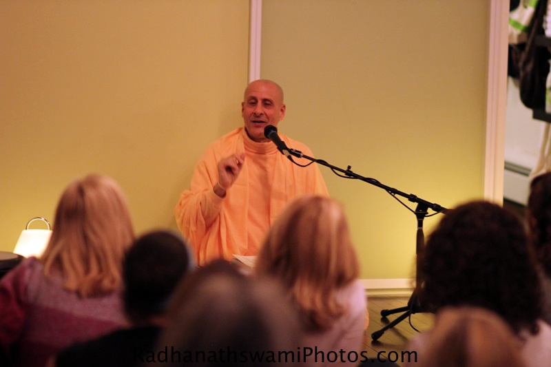 Radhanatha Swami at MapleWood New Jersey