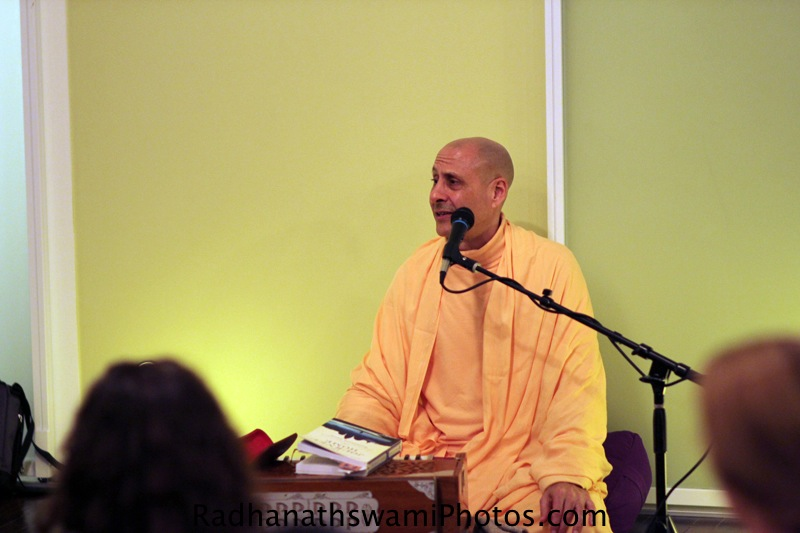 Radhanatha Swamy at New Jersey