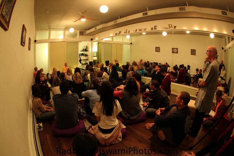 Talk By Radhanatha Swamy at Bakers Street Yoga Center