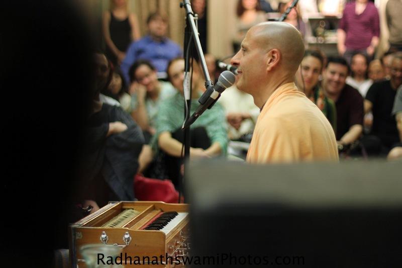 Talk by HH Radhanath Swami at Jivamukti yoga Studio