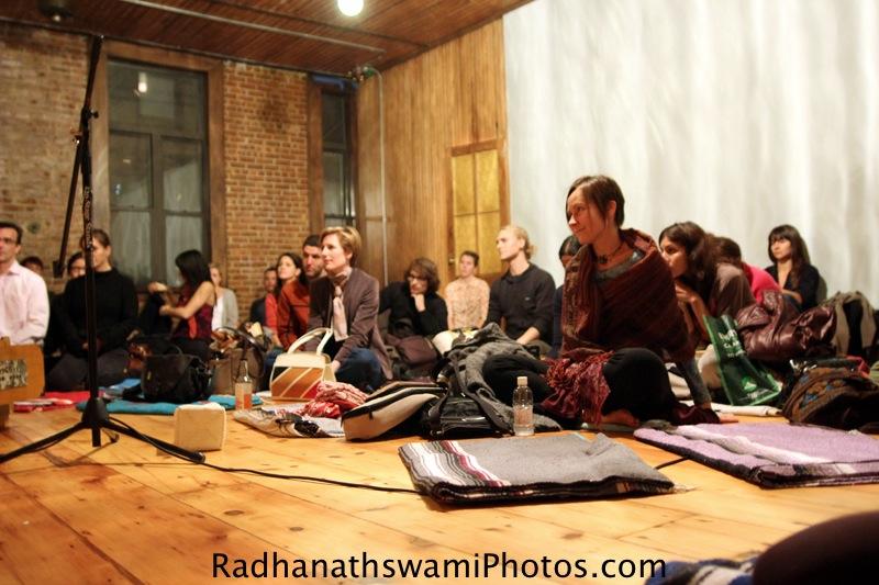 Guests at Kula Yoga Studio, New York