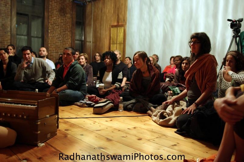 Guests at kula Yoga center