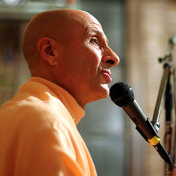 Radhanath Swami at Kula Yoga Studio, New York