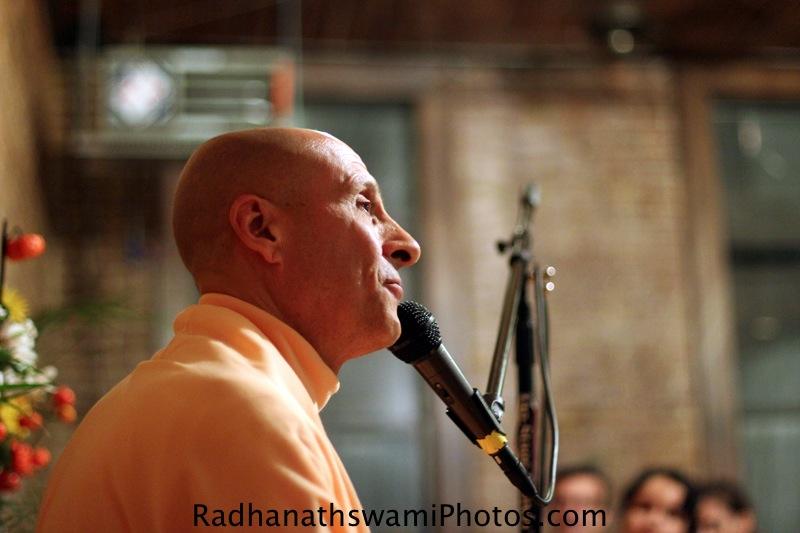 Radhanath Swami at New York