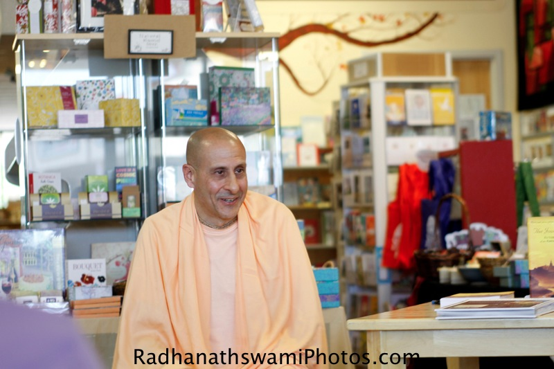 Radhanath Swami in California