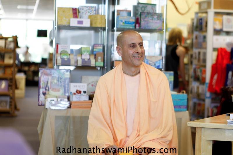 Radhanath Swami's Visit to Sundance book store