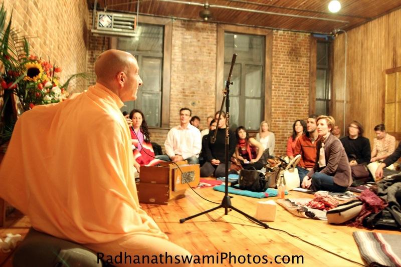 Radhanatha Swamy at Kula Yoga Studio