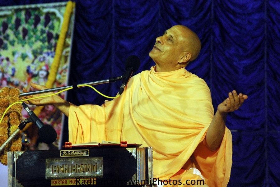 Radhanath Swami Maharaj during Jagannath Puri Yatra