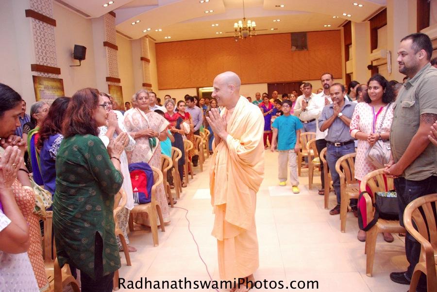 Radhanath Swami in Mumbai