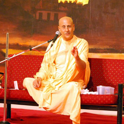 Radhanath swami at journey home fan club