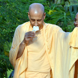 Radhanath Swami at Govardhan Eco-village