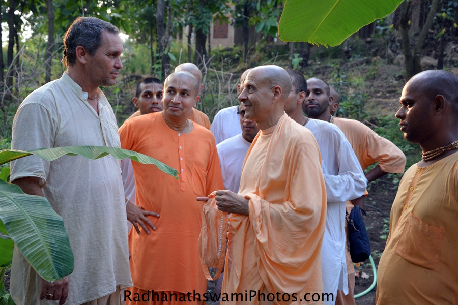Radhanath Swami's visit to India