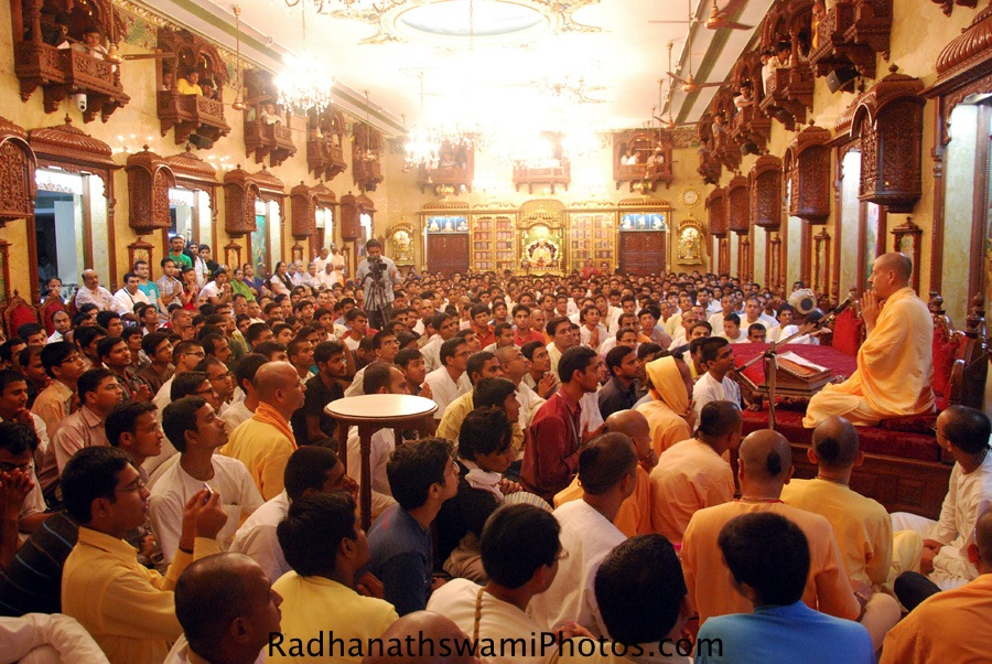 Talk by Radhanath Swami at ISKCON Chowpatty