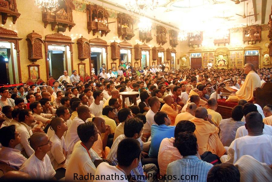 Talk by Radhanath Swami in Prerana Youth Festival, ISKCON Chowpatty