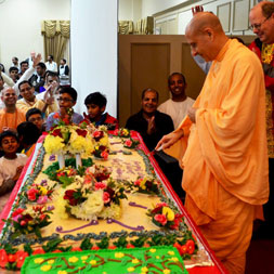 Radhanath Swami Appearance day