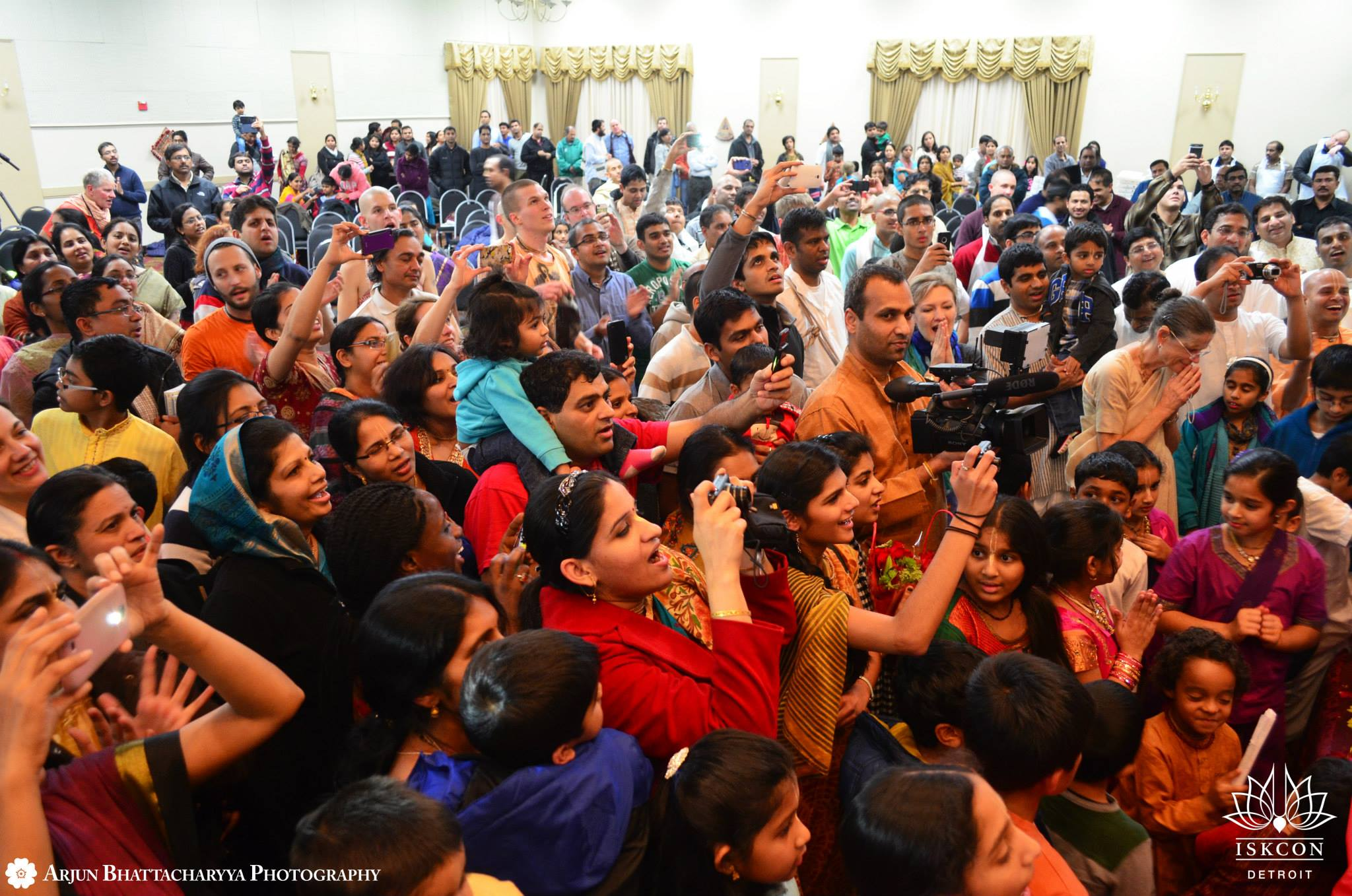 Devotee's at Radhanath Swami Appearance Day