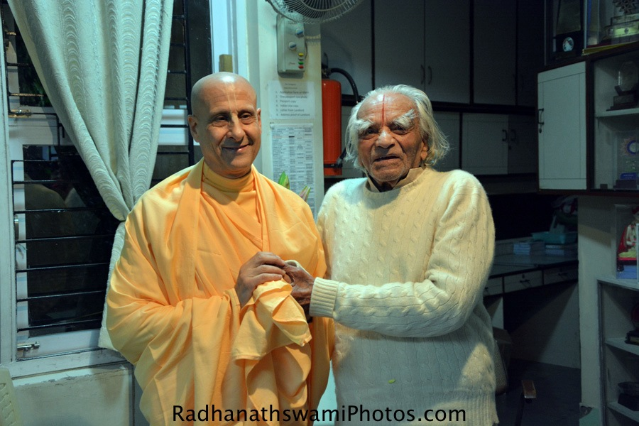 Radhanath Swami's visit to Pune, India