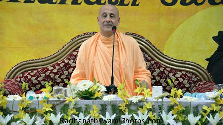 Radhanath Swami Maharaj at Patna