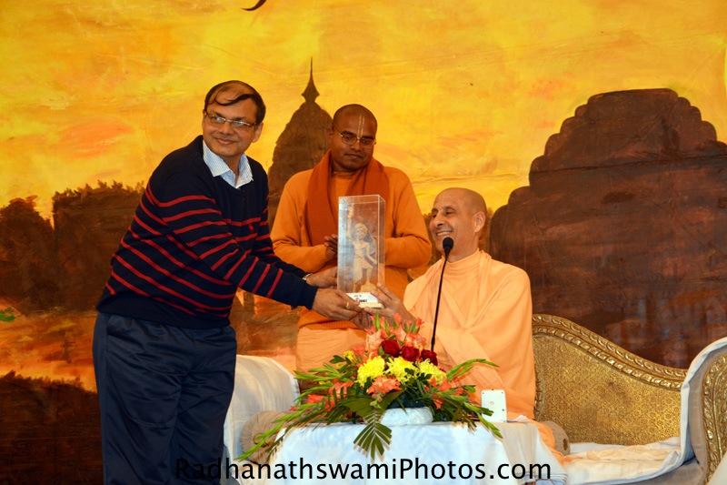 Radhanath Swami Maharaj at Ranchi